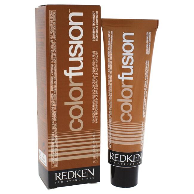 Redken Color Fusion Color Cream Natural Fashion 6Cr Coppe...