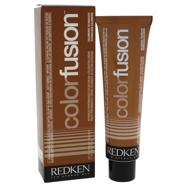 Redken Color Fusion Color Cream Natural Fashion 4Mv Mahog...