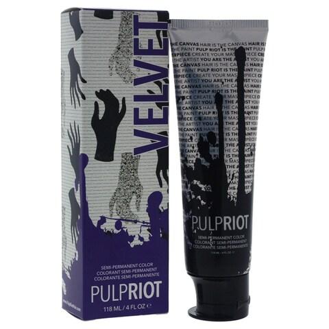Pulp Riot 4-ounce Semi-Permanent Color Velvet Eggplant