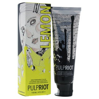 Pulp Riot 4-ounce Semi-Permanent Color Lemon Yellow
