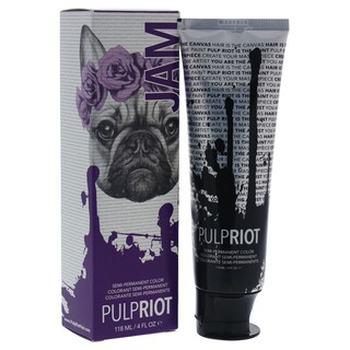 Pulp Riot 4-ounce Semi-Permanent Color Jam Violet