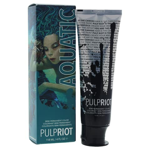 Pulp Riot 4-ounce Semi-Permanent Color Aquatic Aqua