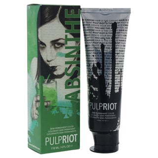 Pulp Riot 4-ounce Semi-Permanent Color Absinthe Green