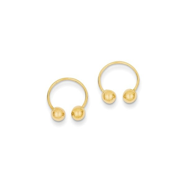 hoop gold earrings boutique blog star size pearl karat one mizuki
