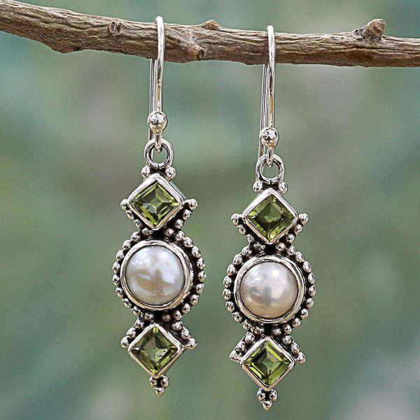 handmade stone wirewrap by lilesj artists veronica featured blog artist handcrafted livngoodjewelry earrings