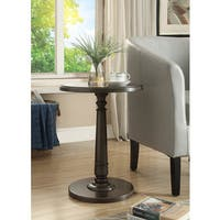 Haley Accent Table in Brushed Grey