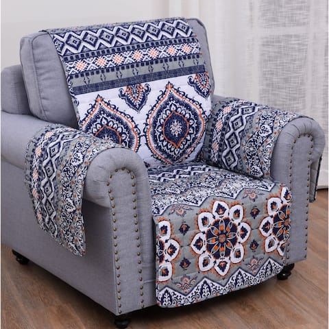 Greenland Home Medina Armchair and Recliner Furniture Protector