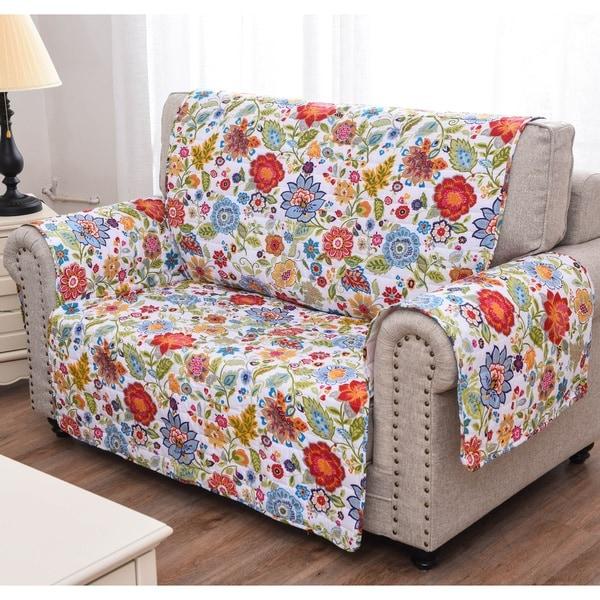 Astoria White Loveseat Furniture Protector
