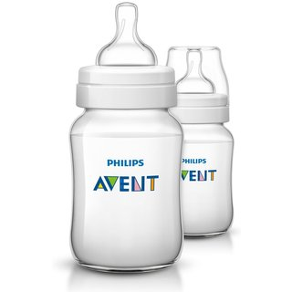 Philips Avent 9-ounce Anti-Colic Baby Bottle (Pack of 2)