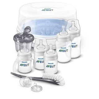 Philips Avent Anti-Colic Bottle Essentials Newborn Starter Set