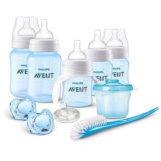 Philips Avent Blue Anti-Colic Bottle Newborn Starter Set