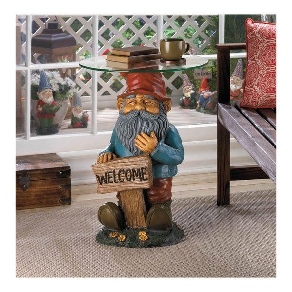 Koehler Home Decor: Shop Koehler Home Decor Garden Gnome Accent Table