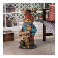 Koehler Home  Decor  Garden Gnome Accent Table