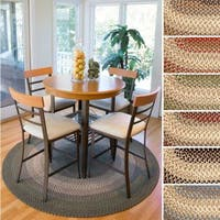 Ellsworth Indoor/ Outdoor Reversible Braided Rug by Rhody Rug - 6'