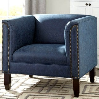 Modern Design Living Room Blue Accent Chair