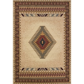United Weavers Manhattan Tucson Cream Area Rug (12'6 x 15')