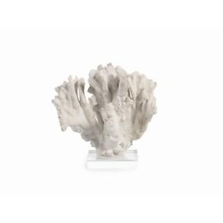 """Eldoris"" 8.5"" Tall Coral Sculpture, Acrylic Base"