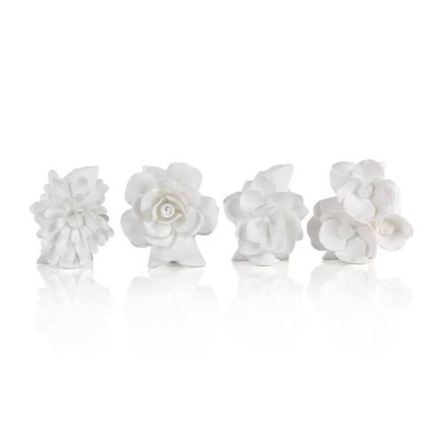 """""""Cameo"""" Porcelain Vase (Set of 4)"""