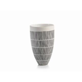 """Marquesa"" 10.5"" Tall Ceramic Vase"