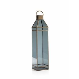 """Yasmina"" 25"" Tall Glass Decorative Candle Lantern"