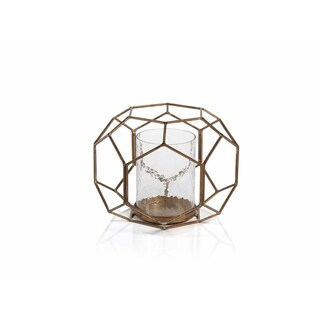 """8"""" Tall Caged Hurricane Candle Holder"""