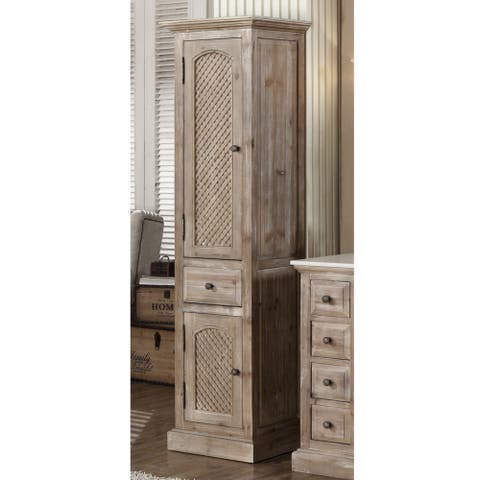 Driftwood 79-inch Side Cabinet