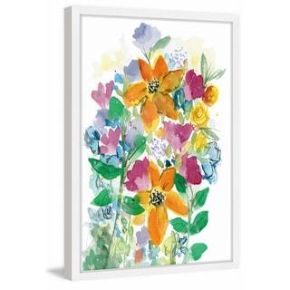 'Wild Flower Bouquet' Framed Painting Print