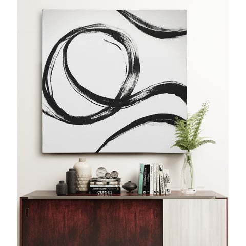 Gestural Marks IV Canvas Wall Art