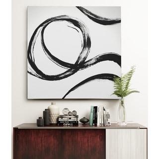 Gestural Marks IV Canvas Wall Art