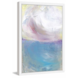 'Summer Clouds' Framed Painting Print