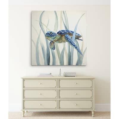 Turtle in Seagrass II