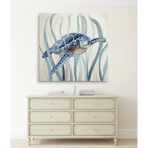 Turtle in Seagrass I