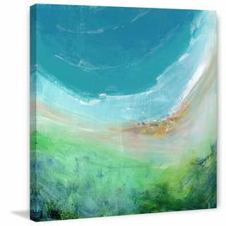 'Seaside' Painting Print on Wrapped Canvas