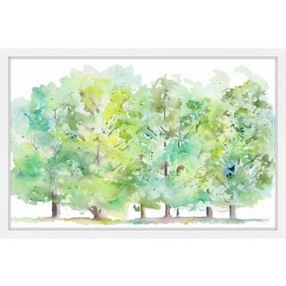 'Ripe Trees' Framed Painting Print