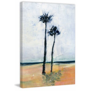 'Palm Friends' Painting Print on Wrapped Canvas