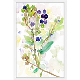 'Grape Vine' Framed Painting Print