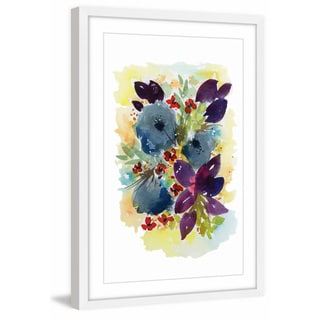 'Fall Bouquet' Framed Painting Print
