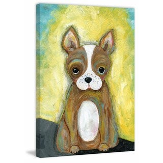 'Rocky' Painting Print on Wrapped Canvas