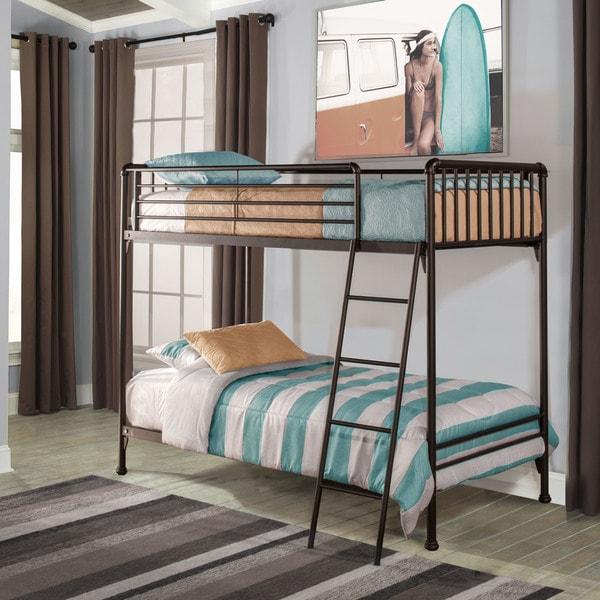 Shop Hillsdale Furniture Brandi Oiled Bronze Twin Twin