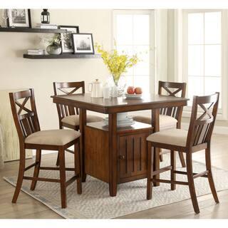 Greyson Living Blake Medium Oak Counter Height Dining