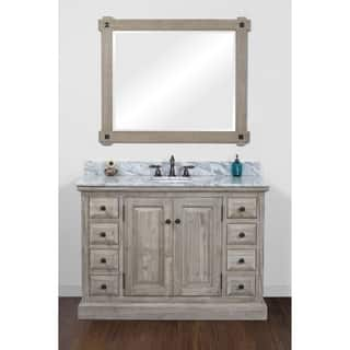 Buy Rustic Bathroom Vanities Vanity Cabinets Online At Overstock - Bathroom vanities omaha