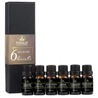 Totally Products 6-piece 100% Pure Therapeutic-grade Essential Oil KIt