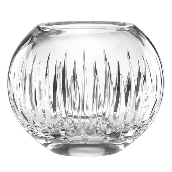 Reed & Barton Soho Crystal Rose Bowl