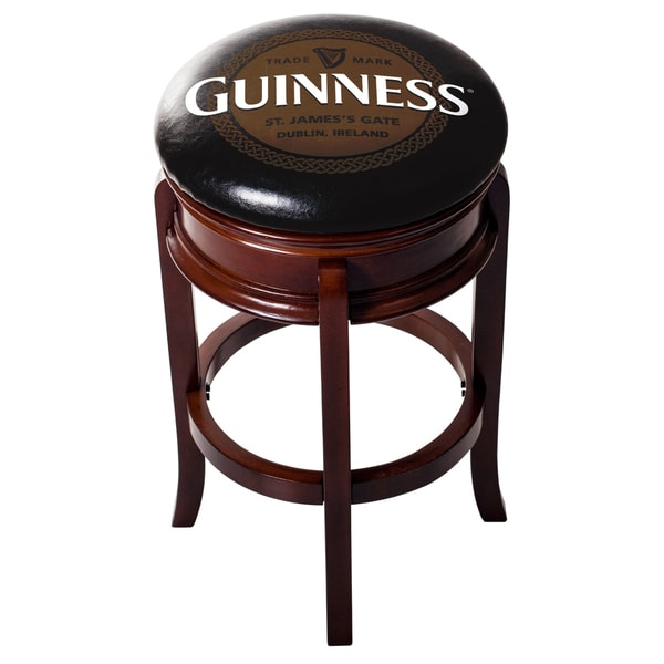 Guinness Wood Swivel Bar Stool Free Shipping Today 22730536