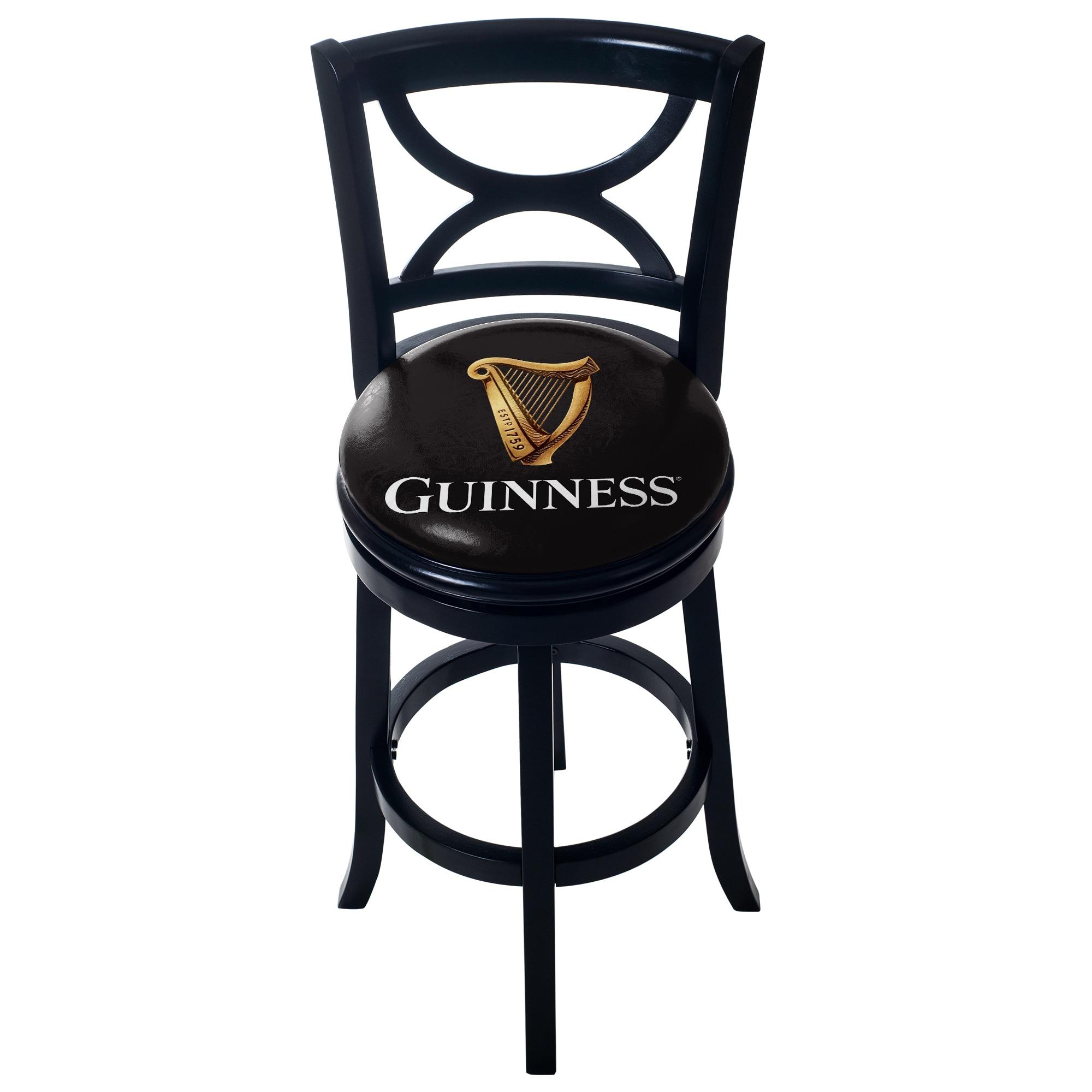Surprising Guinness Swivel Wood Bar Stool With Back Ibusinesslaw Wood Chair Design Ideas Ibusinesslaworg