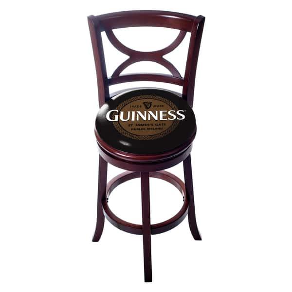 Prime Shop Guinness Swivel Wood Bar Stool With Back On Sale Spiritservingveterans Wood Chair Design Ideas Spiritservingveteransorg