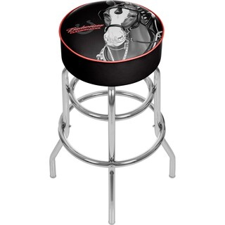 Budweiser Padded Swivel Bar Stool