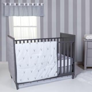 Trend Lab Stag Head 3-piece Crib Bedding Set