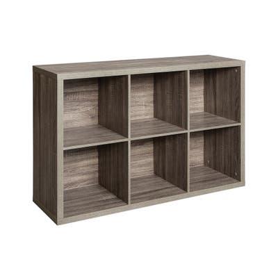 ClosetMaid Decorative Storage 6-Cube Organizer