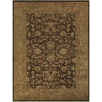 Arshs Fine Rugs Kafkaz Peshawar Alyssa Brown/Light Brown Wool Rug - 10' x 14'